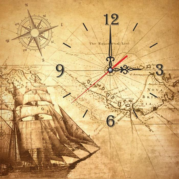Пано-часы GLORIS
